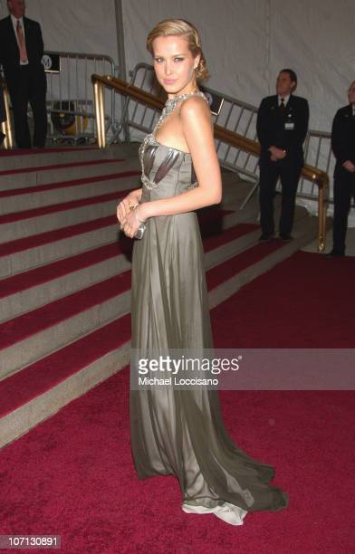 Petra Nemcova during 'Poiret King of Fashion' Costume Institute Gala at The Metropolitan Museum of Art Departures at The Metropolitan Museum of Art...