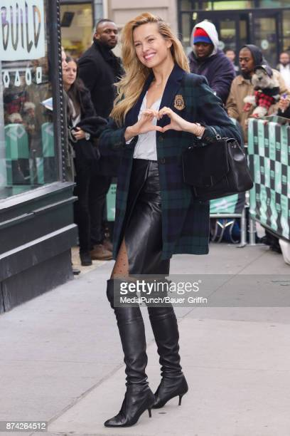 Petra Nemcova is seen on November 14 2017 in New York City