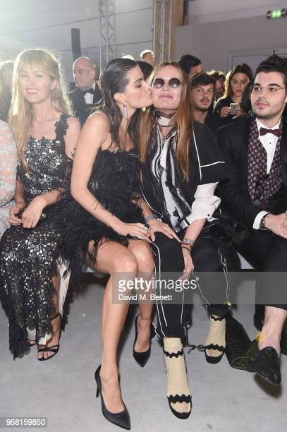 Petra Nemcova Isabeli Fontana Eva Cavalli and Robert Cavalli attends Fashion for Relief Cannes 2018 during the 71st annual Cannes Film Festival at...