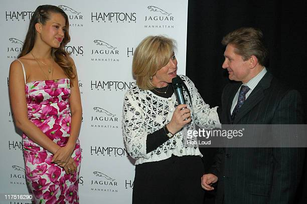 Petra Nemcova Lori Burgess Group Publisher of Niche Media and Gary Flom President and CEO of Manhattan Automobile Company