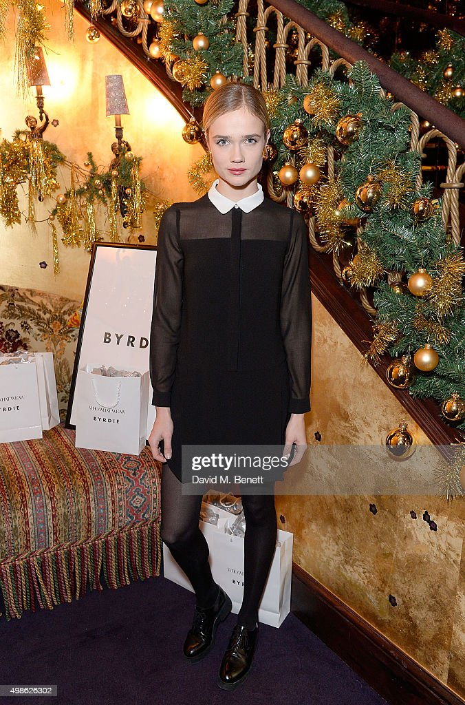 Petra Palumbo attends the WhoWhatWear UK Launch at Loulou's on November 24, 2015 in London, England.