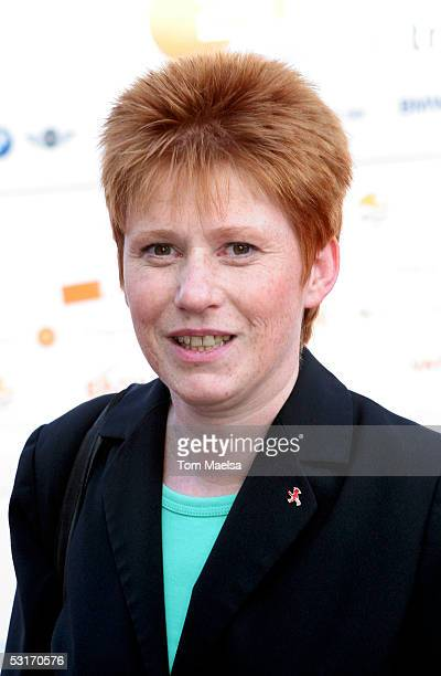 Petra Pau of PDSParty attends the ZDF Television Summer Party June 29 2005 in Berlin Germany