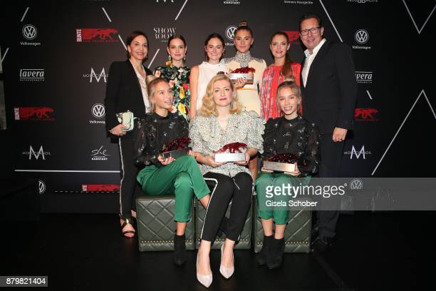Petra Pfaller Actress Emilia Schuele Lea van Acken Style Icon of the year Model and influencer Stefanie Giesinger Lisa and Lena Influencer of the...
