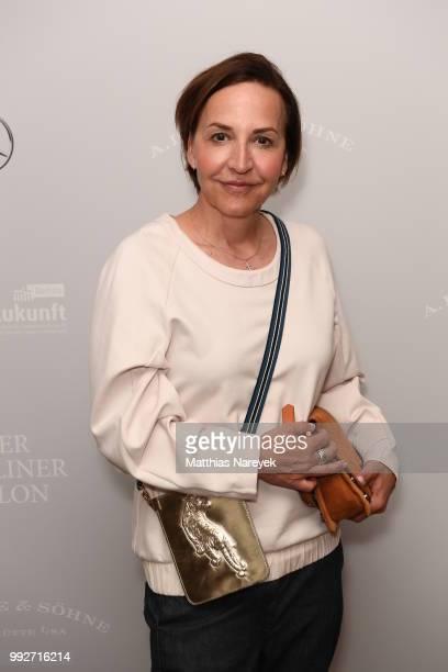 Petra Pfaller during 'Der Berliner Salon' Spring/Summer 2019 at Kronprinzenpalais on July 6 2018 in Berlin Germany