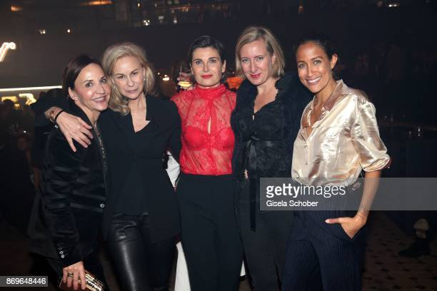 Petra Pfaller MarieLouise Berg Anja Schwing Stephanie Fresle and Rabea Schif attend the 'When the Ordinary becomes Precious #CartierParty Berlin' at...