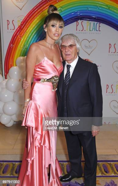 Petra Stunt and Bernie Ecclestone attend the inaugural fundraising dinner for The Petra Stunt Foundation in aid of PS Place at the Corinthia Hotel...