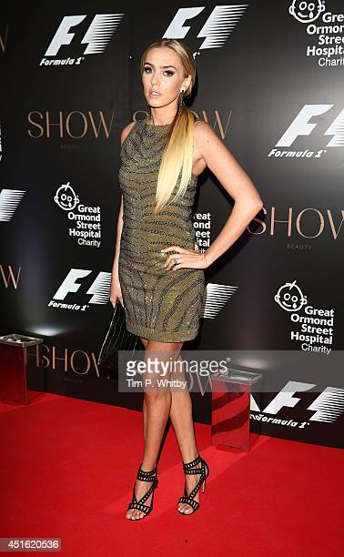Petra Stunt attends The F1 Party in aid of the Great Ormond Street Children's Hospital at Victoria and Albert Museum on July 2 2014 in London England