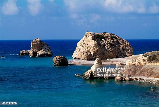 Petra tou Romiou, Aphrodite Rock, Cyprus