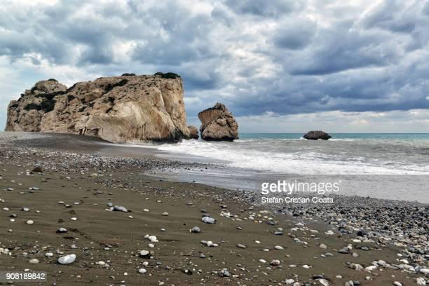 Petra tou romiou Aphrodite Rock Cyprus