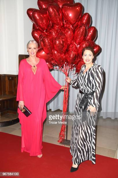 Petra van Bremen and Annika de Buhr attend the Charity Gala 'Das Herz im Zentrum' on June 4 2018 in Hamburg Germany