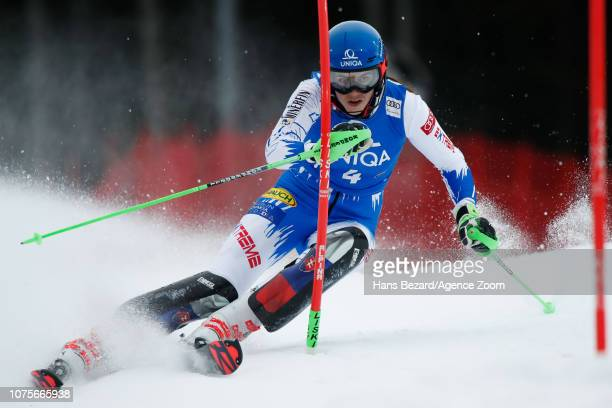 Petra Vlhova of Slovakia competes during the Audi FIS Alpine Ski World Cup Women's Slalom on December 29 2018 in Semmering Austria