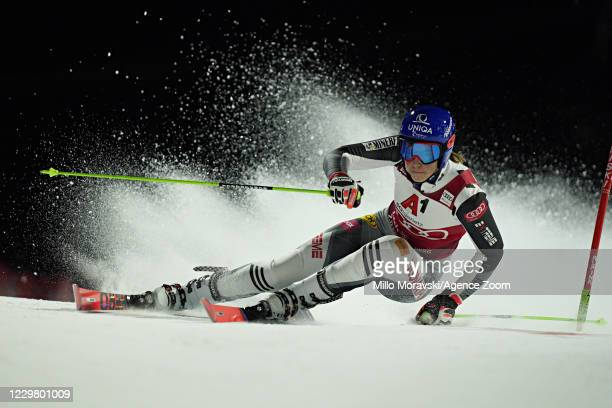 Petra Vlhova of Slovakia in action during the Audi FIS Alpine Ski World Cup Women's Parallel Giant Slalom on November 26, 2020 in Lech Austria.