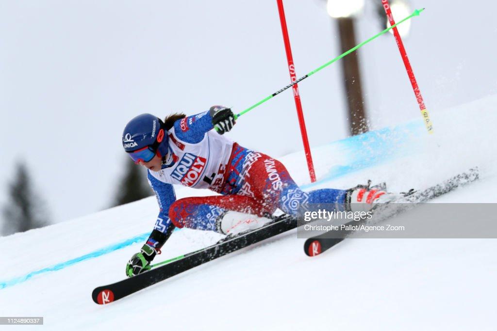 FIS World Ski Championships - Women's Giant Slalom : News Photo
