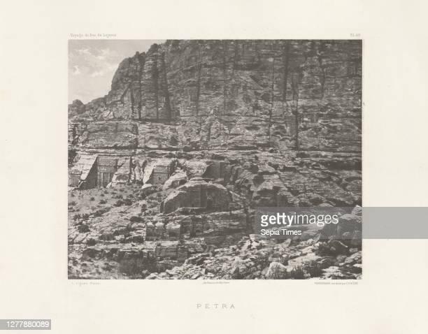 Petra, Voyage d'exploration à la mer Morte, à Petra, et sur la rive gauche du Jourdain, Albert, Honoré Paul Joseph d', duc de Luynes, 1802-1867,...