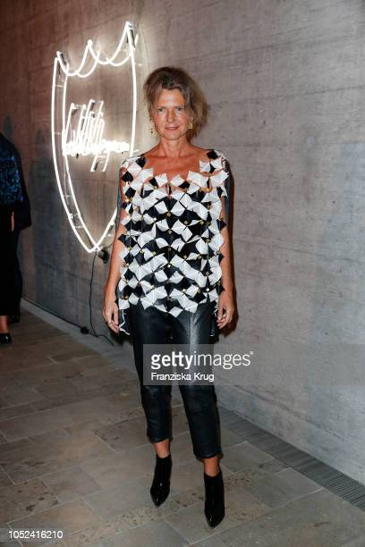 Petra Wilma Mayer attend the Dom Perignon 'The Legacy' on October 17 2018 in Munich Germany