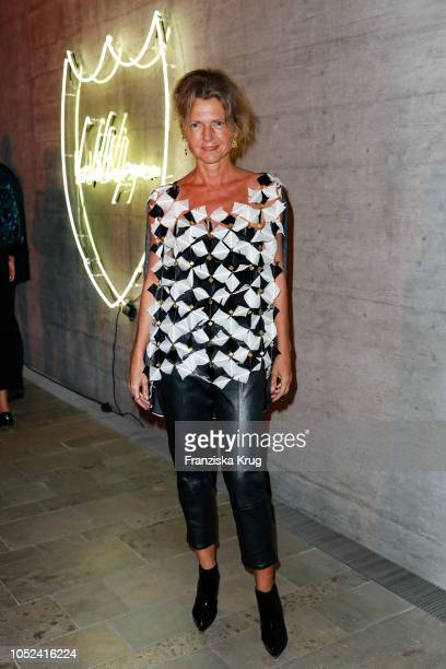 Petra Wilma Mayer attends the Dom Perignon 'The Legacy' on October 17 2018 in Munich Germany