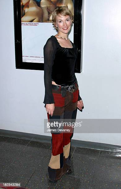 Petra Wright during New York Premiere of XX/XY at the Gen Art Eighth Annual Film Festival at Loews Astor Plaza in New York City New York United States