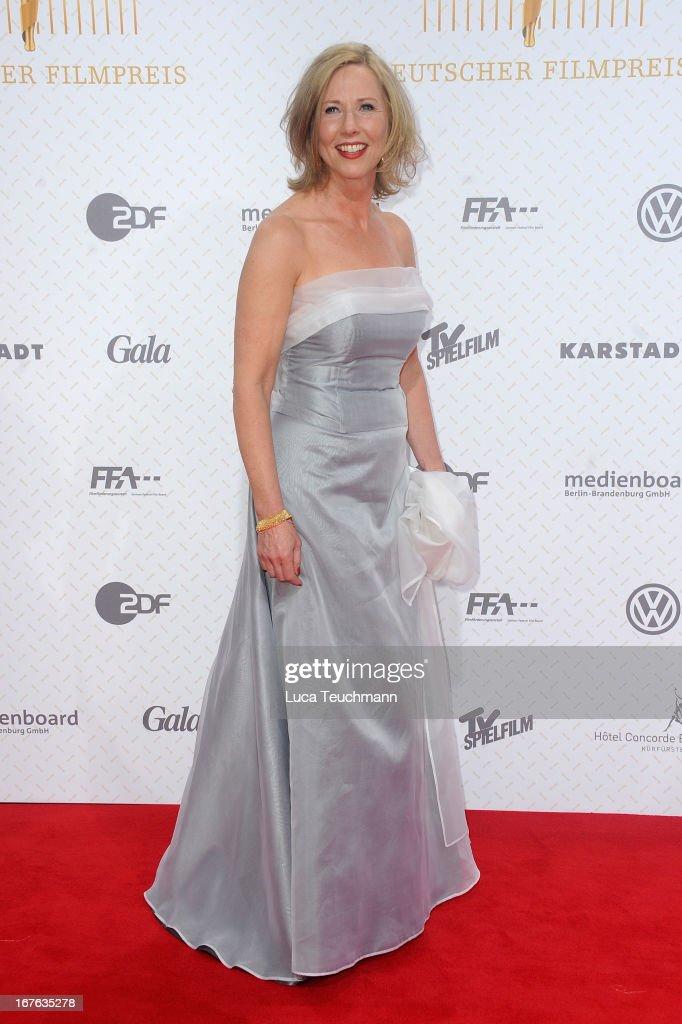 Petra Zieser attends the Lola German Film Award 2013 at Friedrichstadtpalast on April 26, 2013 in Berlin, Germany.