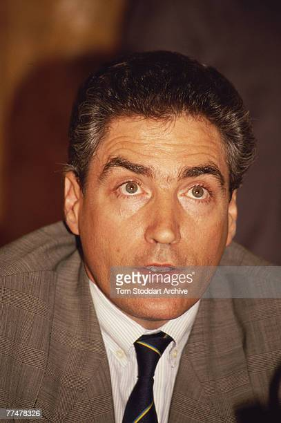 Petre Roman Prime Minister of Romania in Bucharest June 1990