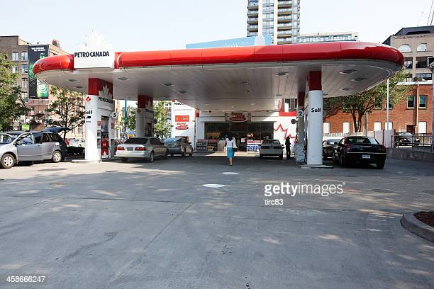 Petro Canada gas station in downtown Toronto