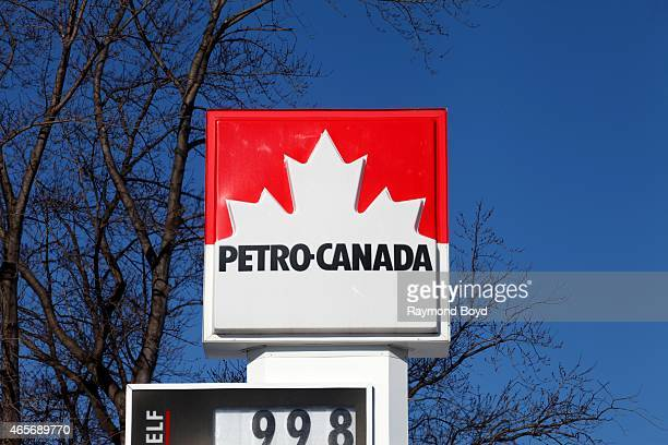 Petro Canada Gas Station Stock Photos And Pictures Getty Images