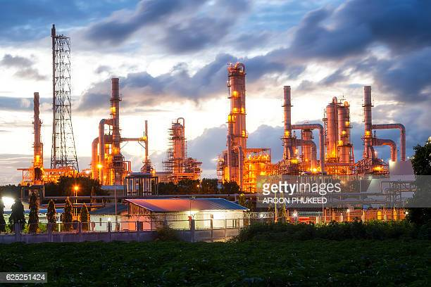 Petrochemical industrial located in Map Ta Phut