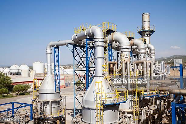 Usine pétrochimique