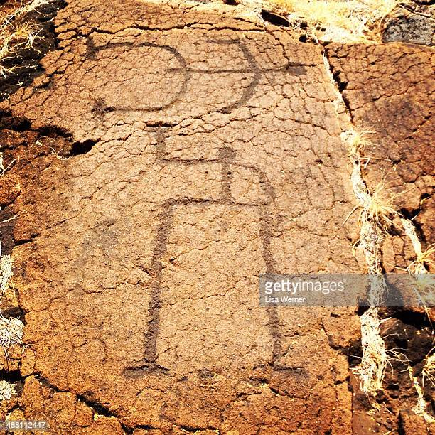 CONTENT] Petroglyphs at Puako Petroglyph Archaeological Preserve on the Big Island of Hawaii