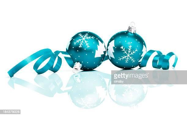 Petrol Christmas Baubles