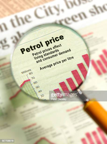 Petrol prices under magnifying glass.