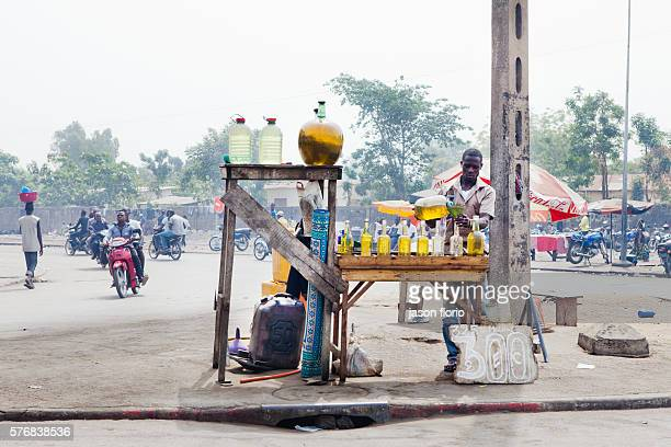 Petrol smuggled into Benin from Nigeria is sold openly on the street in the port town of Cotonou It is believed that some of the fuel comes from...