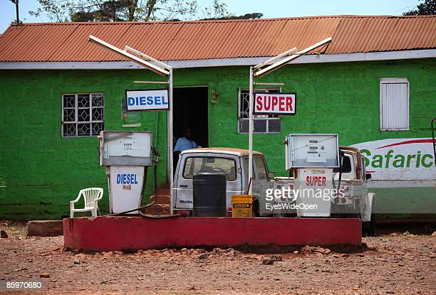 A petrol station on March 20 2009 in Nairobi Kenya