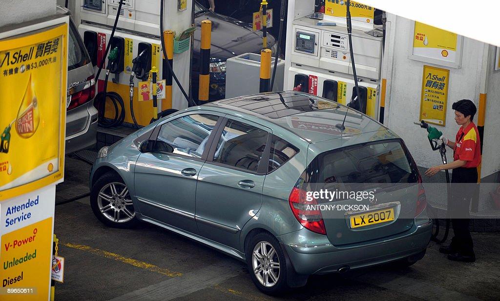 Image result for v power oil filling full with cars