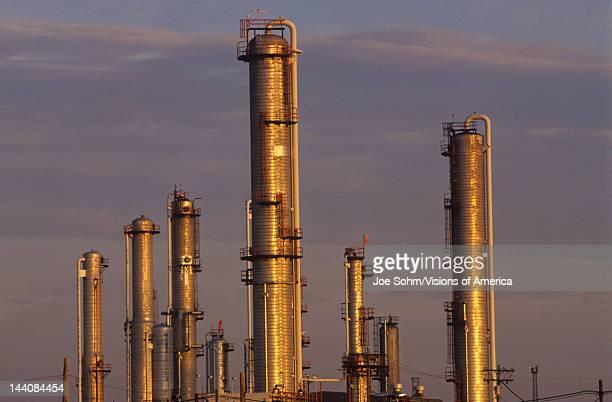 Petroleum Processing Plant at Sarnia, Canada