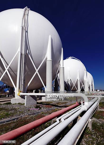 Petroleum tanks and pipelines