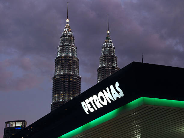 background of petronas