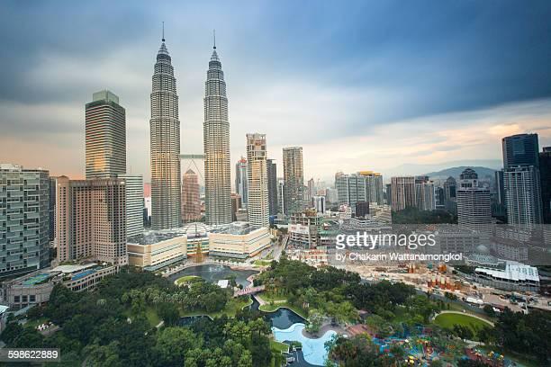 Petronas at Sunset (Kuala Lumpur)