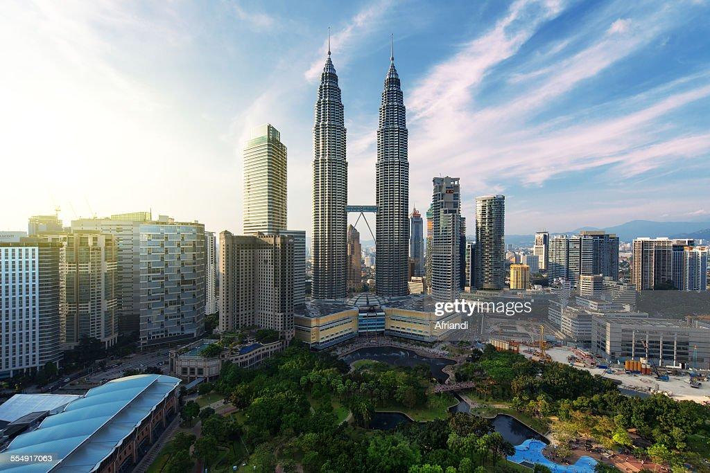 Petronas Towers, Kuala Lumpur : Foto de stock