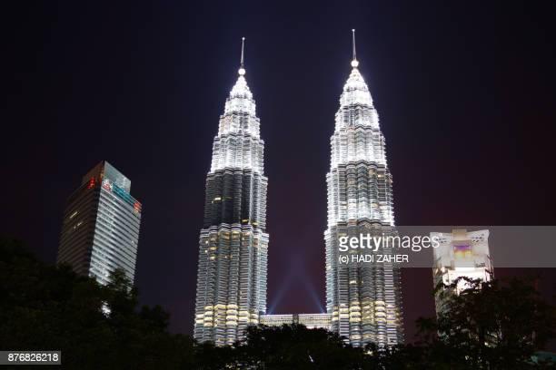 Petronas Twin Towers at night | Kuala Lumpur | Malaysia