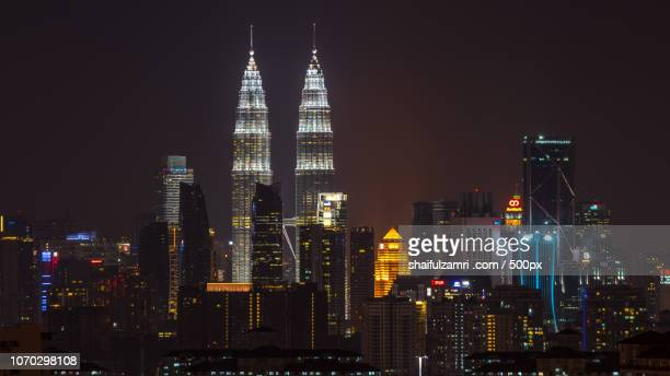 petronas twin towers - shaifulzamri stock pictures, royalty-free photos & images