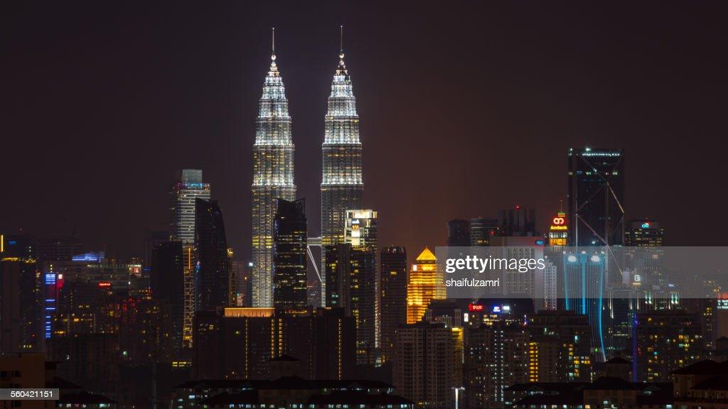 Petronas Twin Towers : Stock Photo
