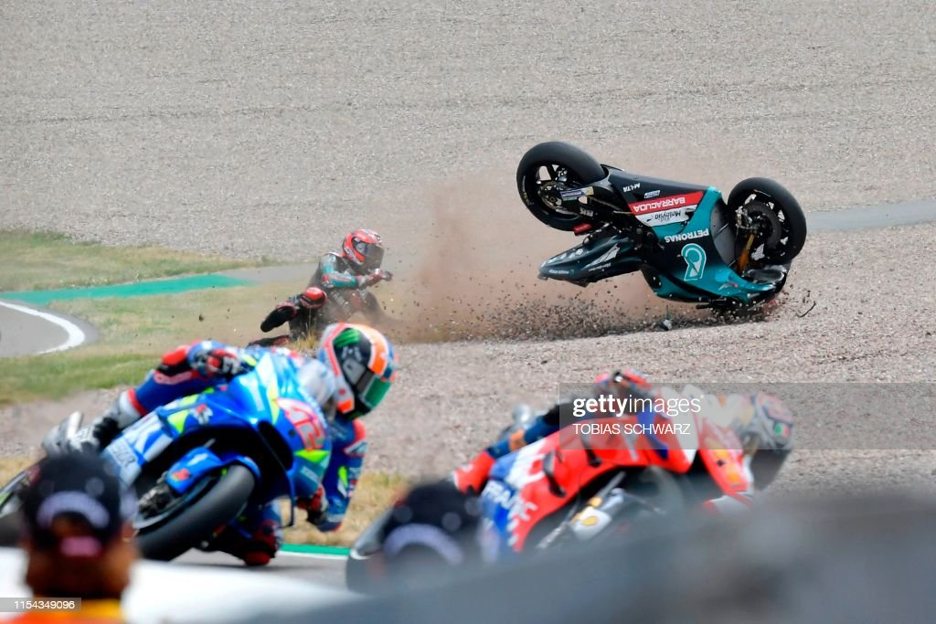 TOPSHOT-MOTO-PRIX-GER-MOTOGP : News Photo
