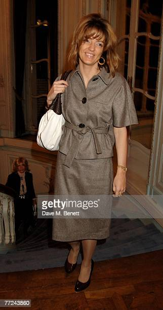 Petronella Wyatt attends the book launch of '101 World Heroes Great Men and Women for an Unheroic Age' by Simon Sebag Montefiore at The Saville Club...