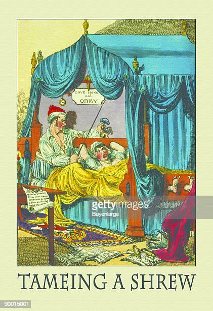 Petruchio's patent family bedstead gags thubscrews OR the Taming of the Shrew