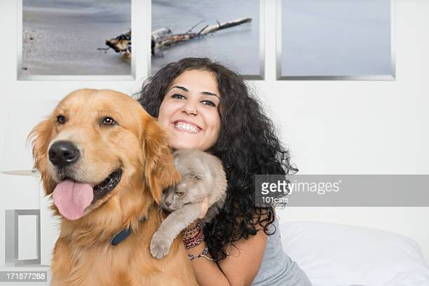 pets and owner