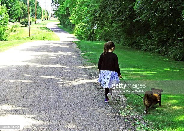 Pets on a Walk