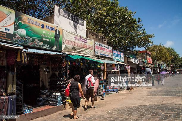 Pettah street in colombo - Sri lanka is a busy business area in the heart of colombo.