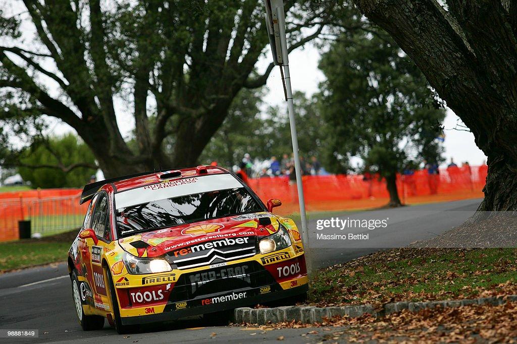 WRC Rally of New Zealand Shakedown