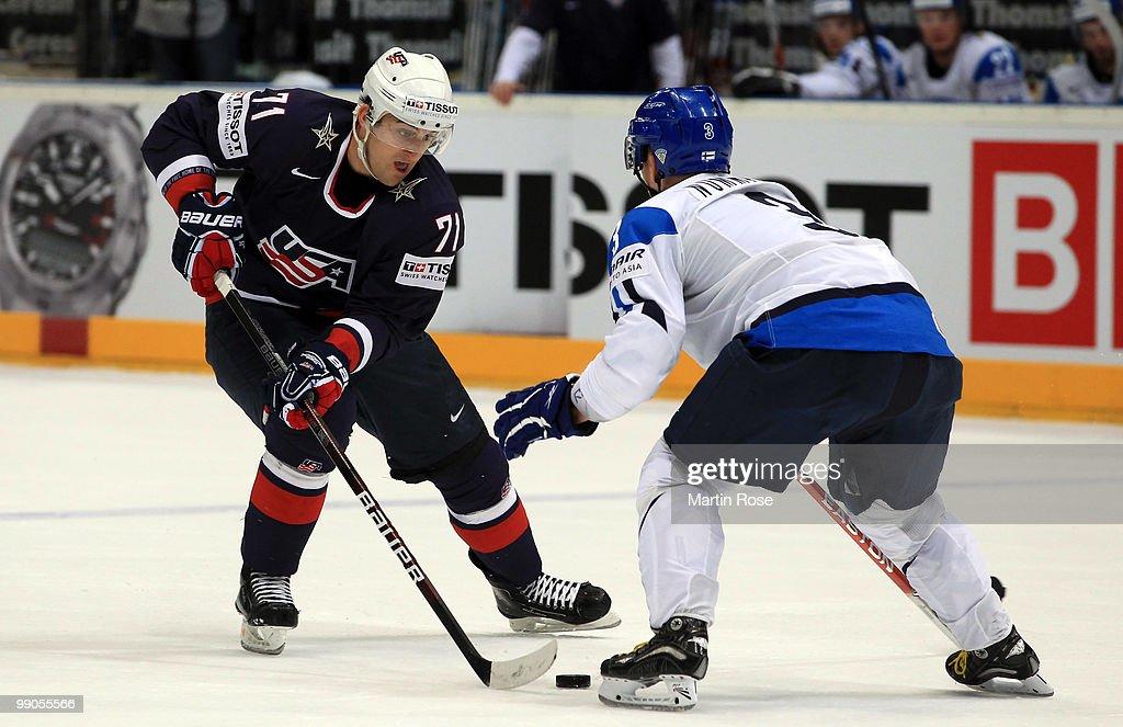 Finland v USA - 2010 IIHF World Championship