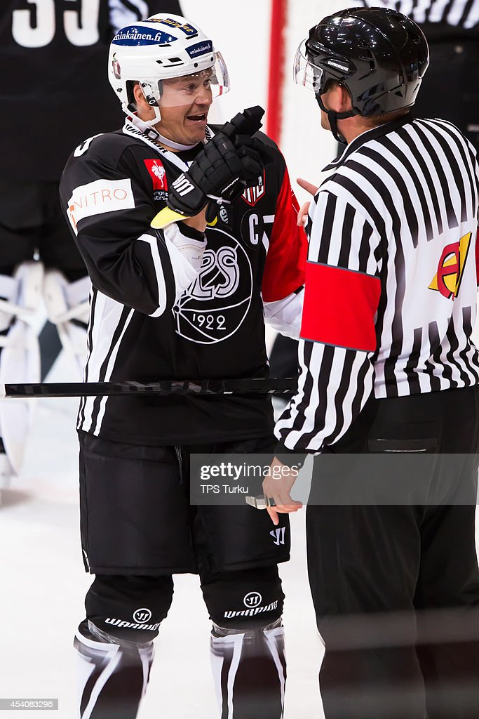 TPS Turku v HC Pardubice - Champions Hockey League